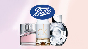 £10 Off Selected Fragrance at Boots.com