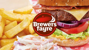 2 Mains for £10.99 at Brewers Fayre