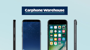 £50 e-Gift on Samsung S8/S8 Plus and iPhone 7/7 Plus Pay Monthly Contracts at Carphone Warehouse