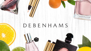 New Season Specatacular - Up to 25% Off Orders plus 10% Off Beauty and Fragrance at Debenhams.ie