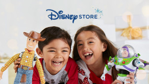 Up to 50% off in the Sale at Disney Store