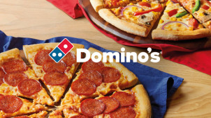 30% Off Orders Over £15 at Domino's Pizza