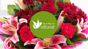 Free Delivery on Selected Orders at eFlorist Flowers