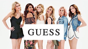 15% Off Your First Order at Guess When Signing up to Their Newsletter