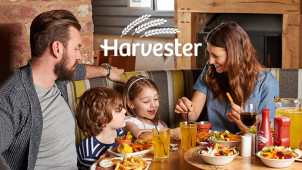 Kids Eat for £1 at Harvester this Half Term