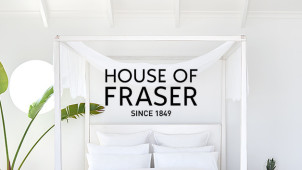 60% Off Selected Homeware and Furniture at House of Fraser