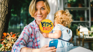 £1 for 30 days then £2.99 per month at Kids Pass