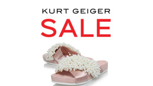Find 70% Off in the Sale Plus New Lines Added & Further Reductions at Kurt Geiger