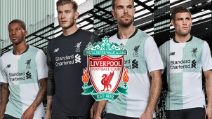 New! Liverpool FC 17/18 Away Kit Out Now
