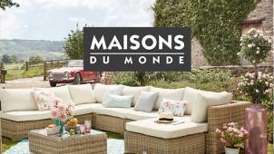 50% Off Selected Summer Lines at Maisons du Monde