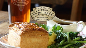 £10 off £30 Spend at Nicholson's Pubs