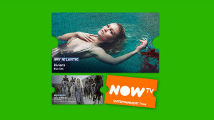 1 Month Entertainment Pass for £1 at NOW TV