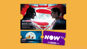 Free 14 Day Sky Cinema Trial + £10 Retail Voucher with £9.99 Pass at NOW TV