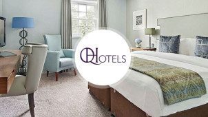 40% off 2 Night Breaks Plus £15 Dining Voucher at QHotels