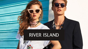 20% Off Orders Over €85 at River Island