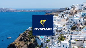Flights from £9.99 at Ryanair