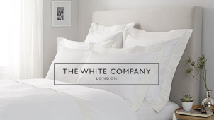 Up to 60% off in the Sale at The White Company