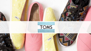 Up to 50% Off in the Sale at TOMS