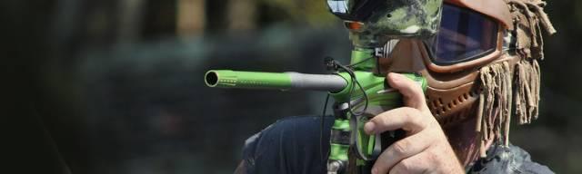 Esportes de ação com laser