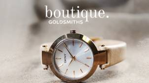 25% off Designer Watches including Michael Kors, Armani & DKNY at Goldsmiths