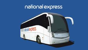 25% off Brighton Routes at National Express