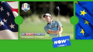 20% off Sky Sports Day Pass - Just £5.​​60. Watch the Ryder Cup at NOW TV!